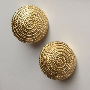 Gold Avon Earrings Clip-ons